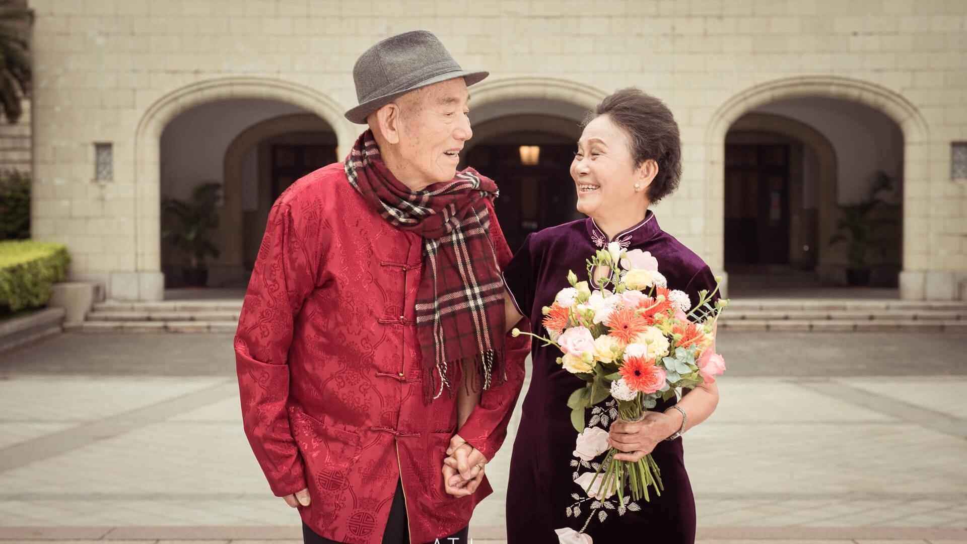 張團圓全家福 結婚五十週年紀念